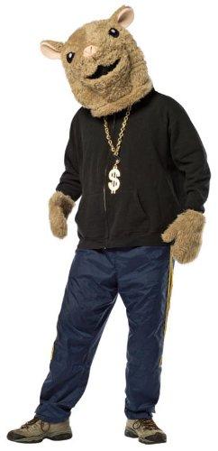Hamster Masks (Hamster Adult Costume Set - One Size)