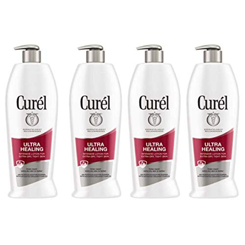 Cur l Ultra Healing Intensive Lotion for Extra-Dry, Tight Skin, 20 Ounces 4-Pack