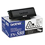 Brother TN580 High-Yield Toner, 7000 Page-Yield, Black– by BND 12502614487 TN580, Office Central