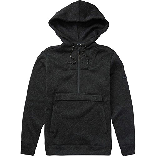 Billabong Men's Boundary Furnace Pullover Black Heather X-Large (Boundary Fleece)