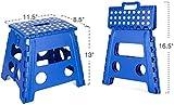 Acko Folding Step Stool - 13 inch Height Premium