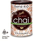 David Rio Decaf Tiger Spice Chai,14 oz-2 cans
