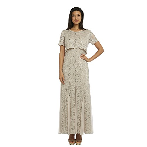R&M Richards Mother of The Bride Fully Lace Dress