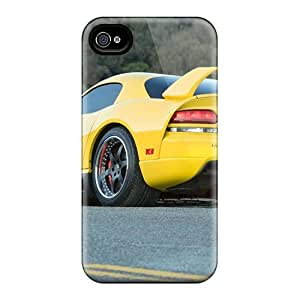 Top Quality Protection Dodge Viper Twin Turbo Hennessey Venom Case Cover For Iphone 4/4s