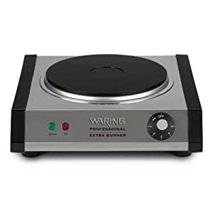 Waring SB30 1300-Watt Portable Single Burner : Great burner but don't try to use it for a large pressure cooker
