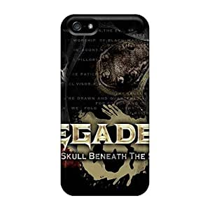 Scratch Protection Hard Phone Covers For Iphone 5/5s (ODQ11567UDHv) Unique Design Nice Rise Against Pictures