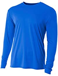 Youth Cooling Performance Crew Long Sleeve