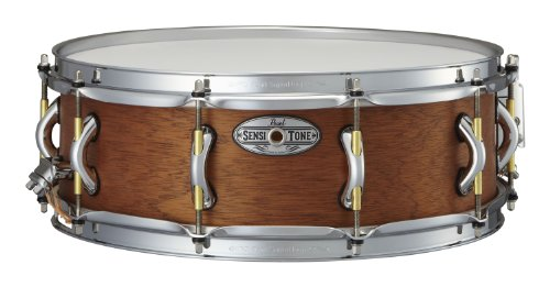 Pearl STA1550MH 15 x 5 Inches Sensitone Premium Snare Drum - African Mahogany by Pearl (Image #1)