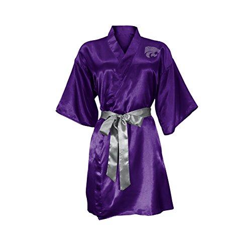 - NCAA Kansas State Wildcats Satin Kimono, Large/XL