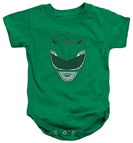 Power Ranger Bodysuit (Infant Power Rangers Green Ranger Infant Onesie Size 18)