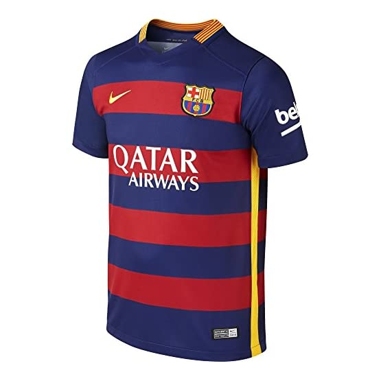 Nike 2015/16 Fc Barcelona Stadium Home Maillot manches courtes Homme