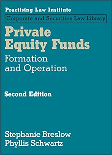 Amazon Private Equity Funds Formation And Operations 2nd