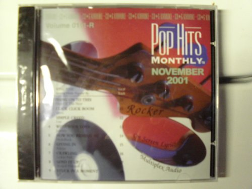 PHMR-0111 POP HITS MONTHLY ROCK Karaoke CDG NOVEMBER 2001 MULTIPLEX by Stellar Records