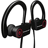 imusicat Bluetooth Headphones Headset Wireless - Audifonos Inalambricos - Earbuds with Mic and Case, Waterproof Sweatproof IPX4, Noise Cancelling, Battery Last 6~7 Hours