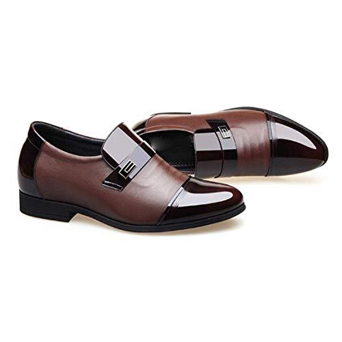 Aumentó Trajes De Señalaron Hombres De De Zapatos Hombre De Cuero Los La Zapatos Los Negocios Los Brown Cabeza Los wZYH7qnt