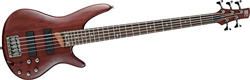 Ibanez SR505 5-String Electric Bass Guitar Brown Mahogany by Ibanez