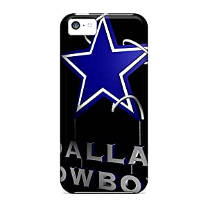 Shock-Absorbing Hard Phone Cases For Iphone 5c (Ult375qUAQ) Customized Colorful Dallas Cowboys Pictures