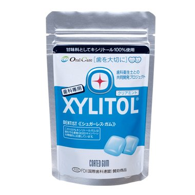 Oral Care Xylitol Gum 21 Pieces, 1 Pack (Clear Mint)