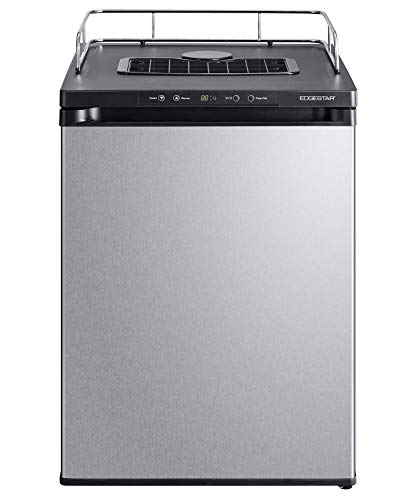 EdgeStar BR3002SS 24 Inch Wide Kegerator Conversion Refrigerator for Full Size Keg - Stainless Steel by EdgeStar (Image #5)