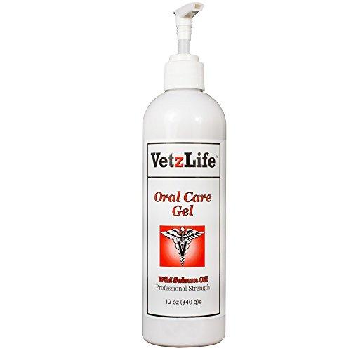 VetzLifetrade; Feline Oral Care Gel Wild Salmon Oil (4.5 -
