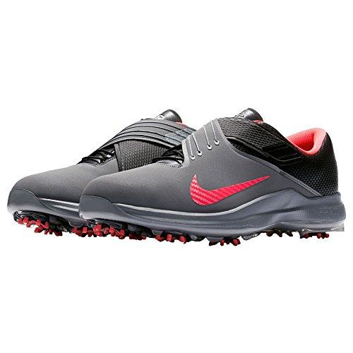Nike Men's TW'17 Golf Shoes, Cool Grey/Solar Red-Black, 9 M US