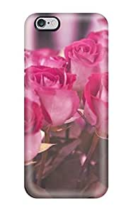 Fashion Tpu Case For Iphone 6 Plus- Flower Defender Case Cover