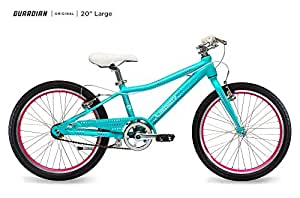 fa195c2c2f6 Amazon.com : Guardian Lightweight Kids Bike 20 Inch, Safe Patented ...