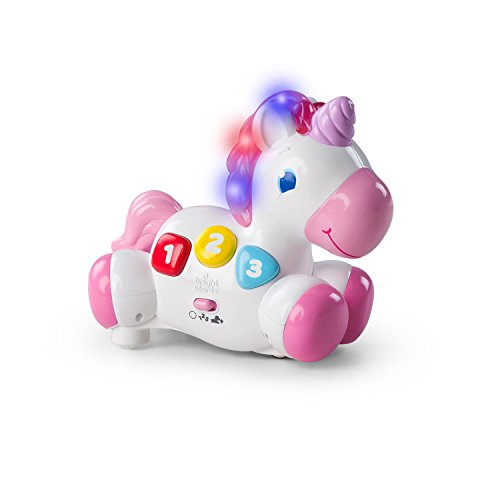 Bright Starts Rock & Glow Unicorn Toy -