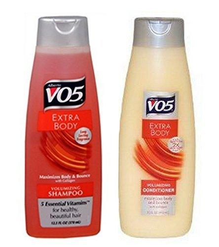 Alberto Vo5 Extra Body Volumizing Shampoo and Conditioner 2 2 Value Pack by V05