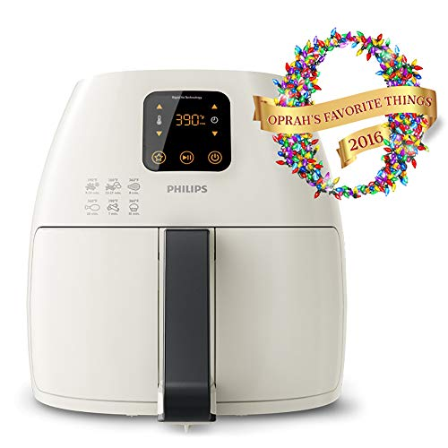 Philips XL Airfryer, The Original Airfryer, Fry Healthy with 75% Less Fat, White, HD9240/34