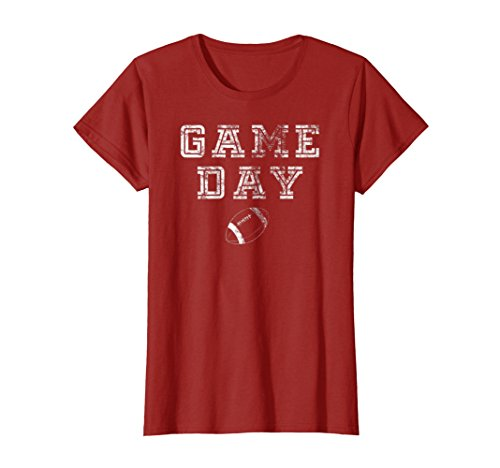 Game Day Football T Shirt Women Men Cute Football Top Gifts