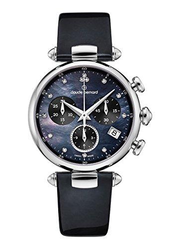Claude Bernard Ladies-Wristwatch Dress Code Chronograph Date Quartz 10215 3 NANDN