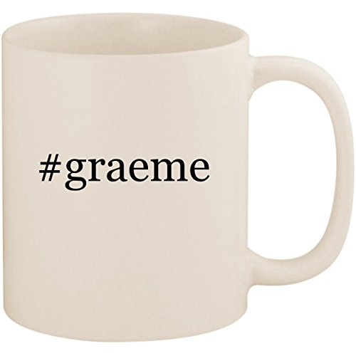 #graeme - 11oz Ceramic Coffee Mug Cup, White