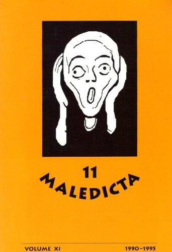 Maledicta 11 (1990-95): The International Journal of Verbal Aggression, vol. - Verbal Art Journal