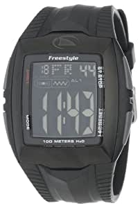 Freestyle Men's FS81285 Shark Buzz 2.0 Custom Rectangle Digital Vibrating Alarm Watch