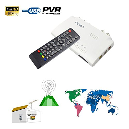 Avi Mpg Converter (Dreamyth 1080P ISDB-T Digital Terrestrial Convertor TV BOX Receiver PVR + 5dBi Antenna (White))