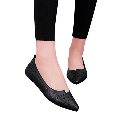 Fitfulvan Clearance! Women Shoes,Ladies Slip On Flat Sandals Casual Casual Casual Shoes Solid Fashion Loafer Star Shoes B07G34DQD6 Shoes 53e0cb