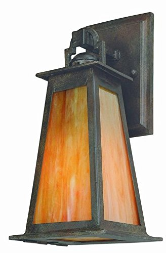 Lucerne Medium Wall - Troy Lucerne 1Lt Wall Lantern Lighting B9881SBZ-D Lucerne 1Lt Wall Lantern