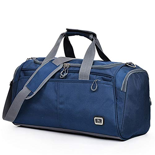 24c468cbcaaa KHDRVJ Outdoor Waterproof Large Capacity Gym Bag Men Women Portable Fitness  Training Bag Soft Foldable Shoulder Travel H Bag Purple