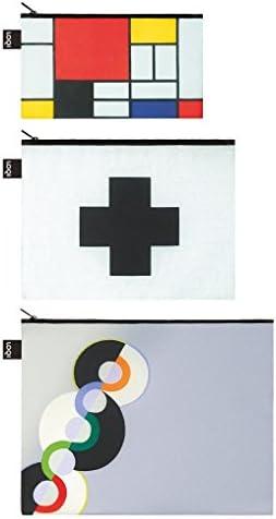 Loqi mus/éeKeith Haring 3/poches zipp/ées