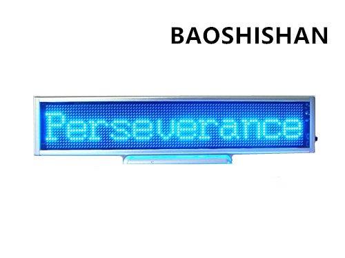 Boshi Electronic Instrument 110V/220V 16x96 Blue LED Scro...