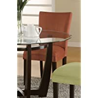 Coaster Home Furnishings 101493 Casual Dining Chair, Cappuccino/Terracotta, Set of 2