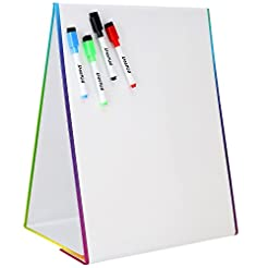 Tabletop Magnetic Easel & Whiteboard (2 ...