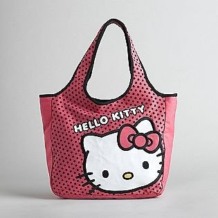 15a3ada4ca59 Image Unavailable. Image not available for. Color  Sanrio Hello Kitty Pink  with Face Tote Bag Purse