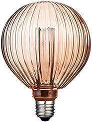 Foco Vintage LED Atenuable / Luz suave cálida, Base E27 Ambar Tecnolite 3DG125LEDFC20VAL
