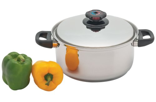 Precise Heat 5-1/2-Quart Surgical Stainless-Steel Stockpot by Precise Heat