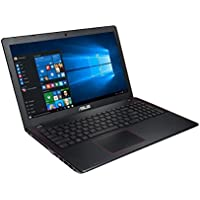 2017 Asus K550 15.6-Inch Full HD High Performance Premium Laptop, Intel Quad-Core i7-6700HQ 2.6GHz, NVIDIA GeForce GTX 950M, 8GB DDR4 RAM, 256GB SSD, HDMI, Bluetooth, 802.11AC, DVD, Webcam, Windows 10