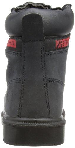 PSFSafety - Botas Chukka hombre negro, gris, rojo
