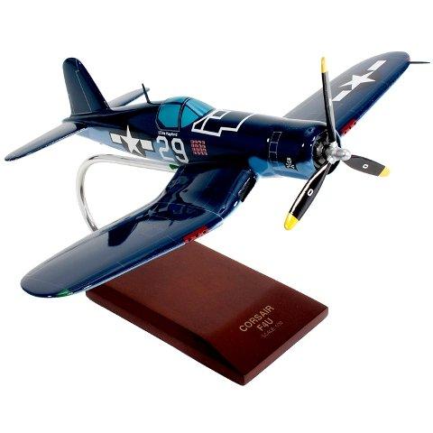 Mastercraft Collection MCF4U1DCW F4U-1D Corsair Wood Desktop (F4u 1d Corsair Fighter)