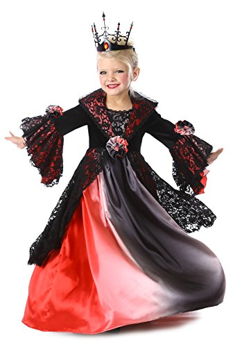Princess Paradise Valentina Vampire Costume, Multicolor, Small/6 (Girl Vampire Costume)